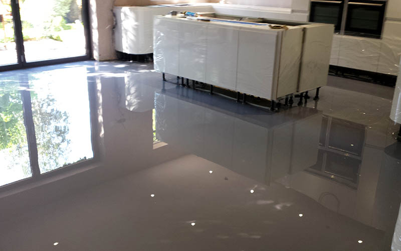 Resin Flooring Dorset Poured Resin Flooring Polished
